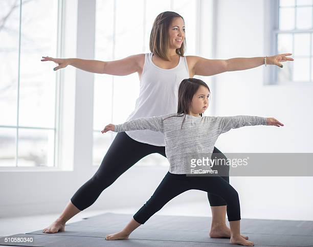 Holding a Warrior Pose