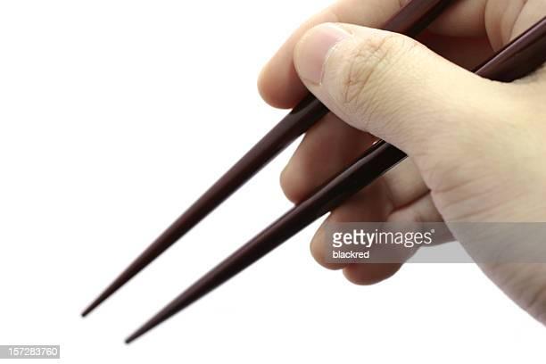 Holding Chopsticks