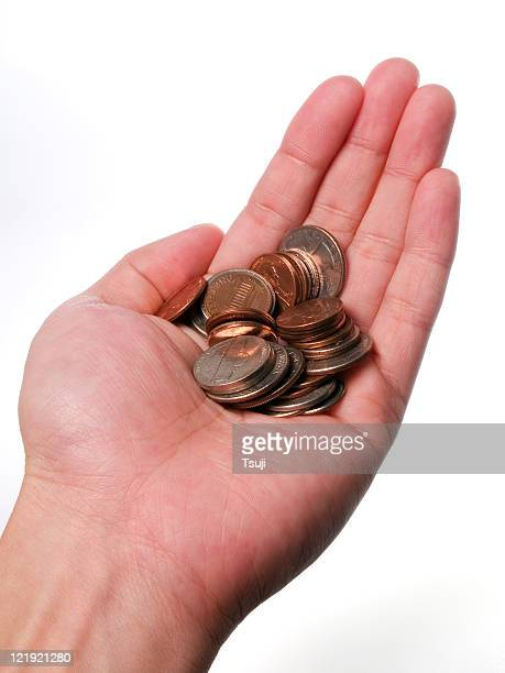 Holding Coins