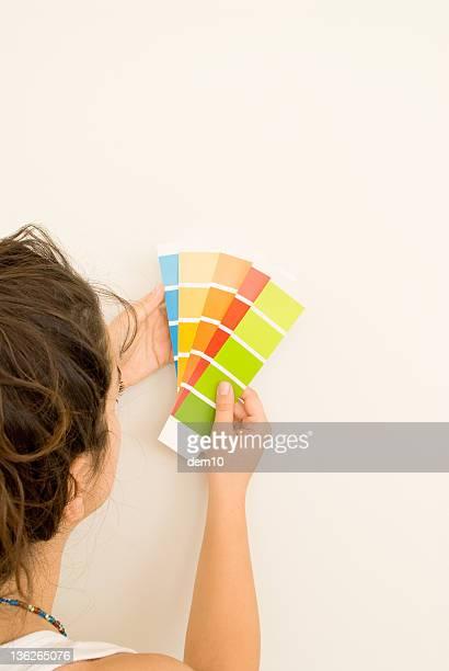 Tenant couleur shade cartes