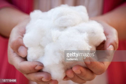 Holding cotton