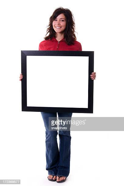 Holding Empty Frame