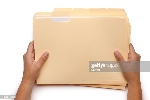 Holding File Folders