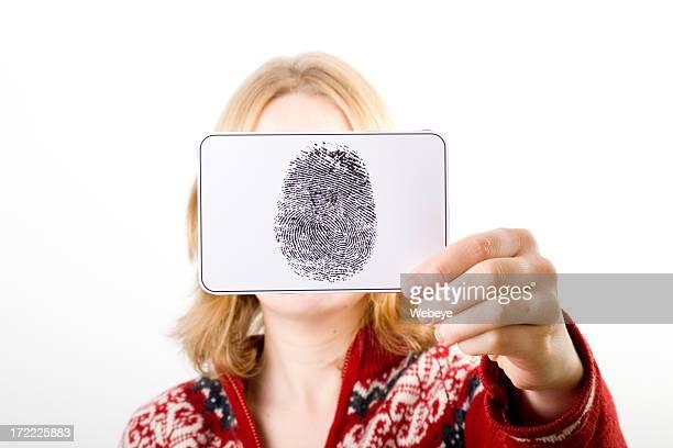 Holding fingerprint