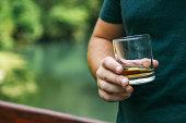 Whiskey, Men, Businessman, Drinking, Males
