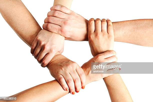 Holding Hands in Unity