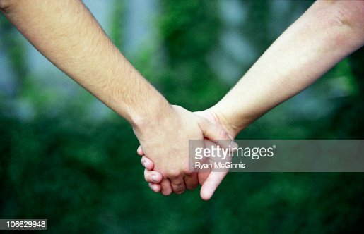 Holding Hands : Stock Photo