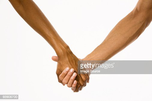 Holding hands : Foto stock