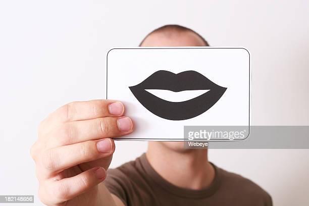 Holding lips