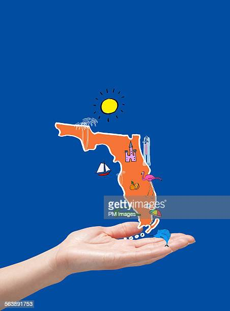 Holding map of Florida