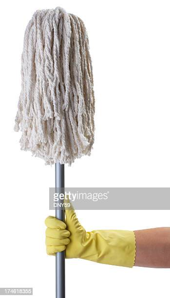 Holding Mop