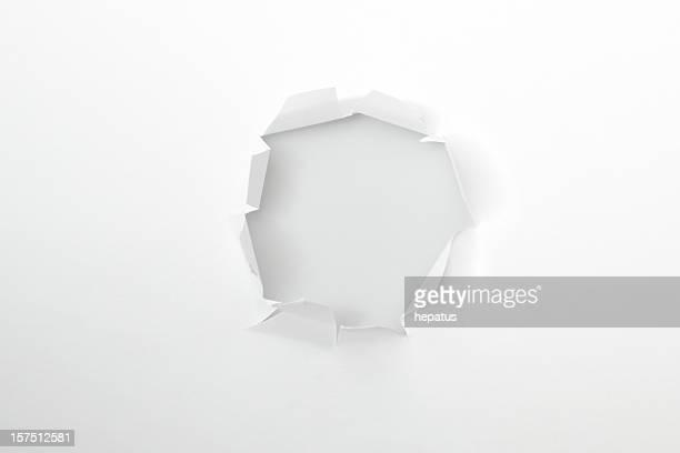 Loch im Weißbuch