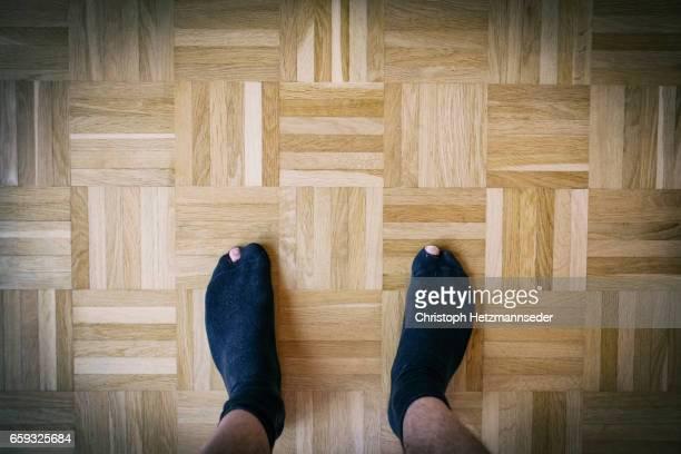 Hole in socks