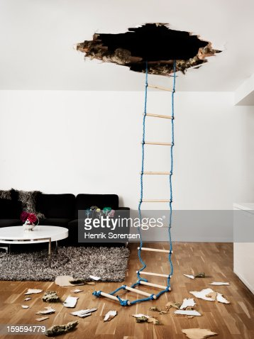 Hole in the Wall : Stock Photo