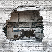 Hole in the wall.