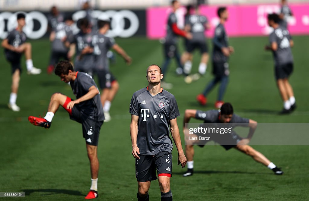 Bayern Muenchen Doha Training Camp - Day 8 : News Photo