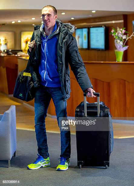 Holger Glandorf of Germany arrives at the German team hotel after being called up as a late replacement for the German IHF World Championship 2017...