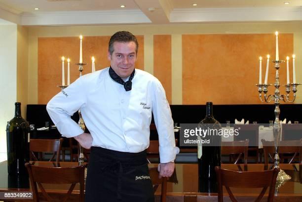 Holger Zurbrueggen Koch D Besitzer des Restaurants Balthazar in Berlin