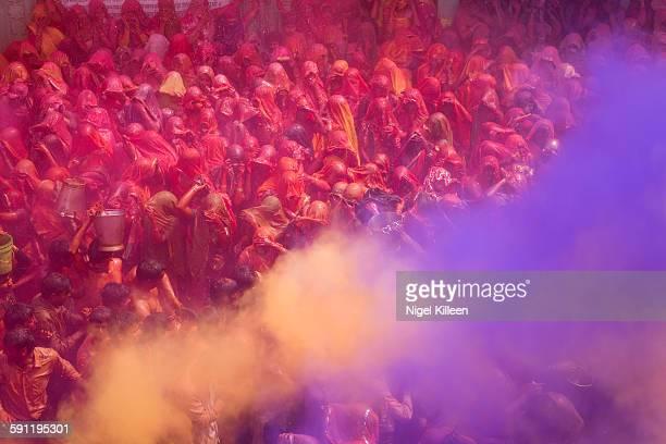 Holi celebrations, Mathura, India