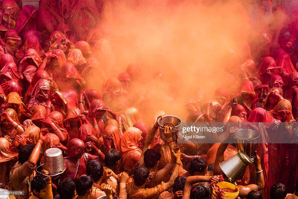 Holi, Dauji Temple, Mathura