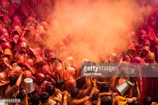Holi, Dauji Temple, Mathura