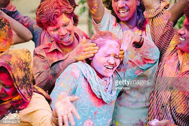 Holi Festival celebrations, Jaipur