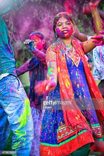 Holi Festival.   Rajastan