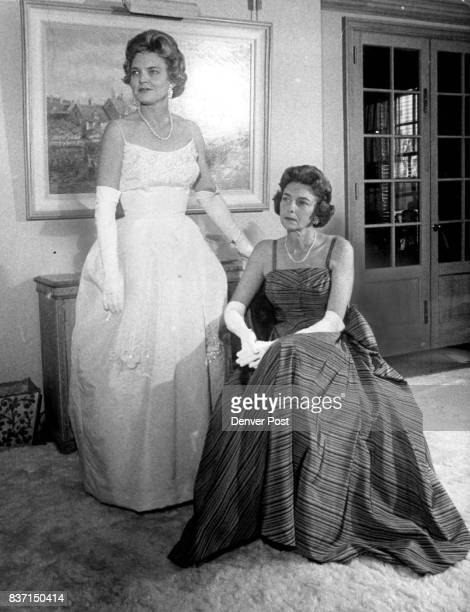 NOV 24 1961 ***** Holiday Ball A white ball gown will also be the choice of Mrs Samuel Butler Jr with Mrs L Calvin Fulenwider Jr wearing a green and...