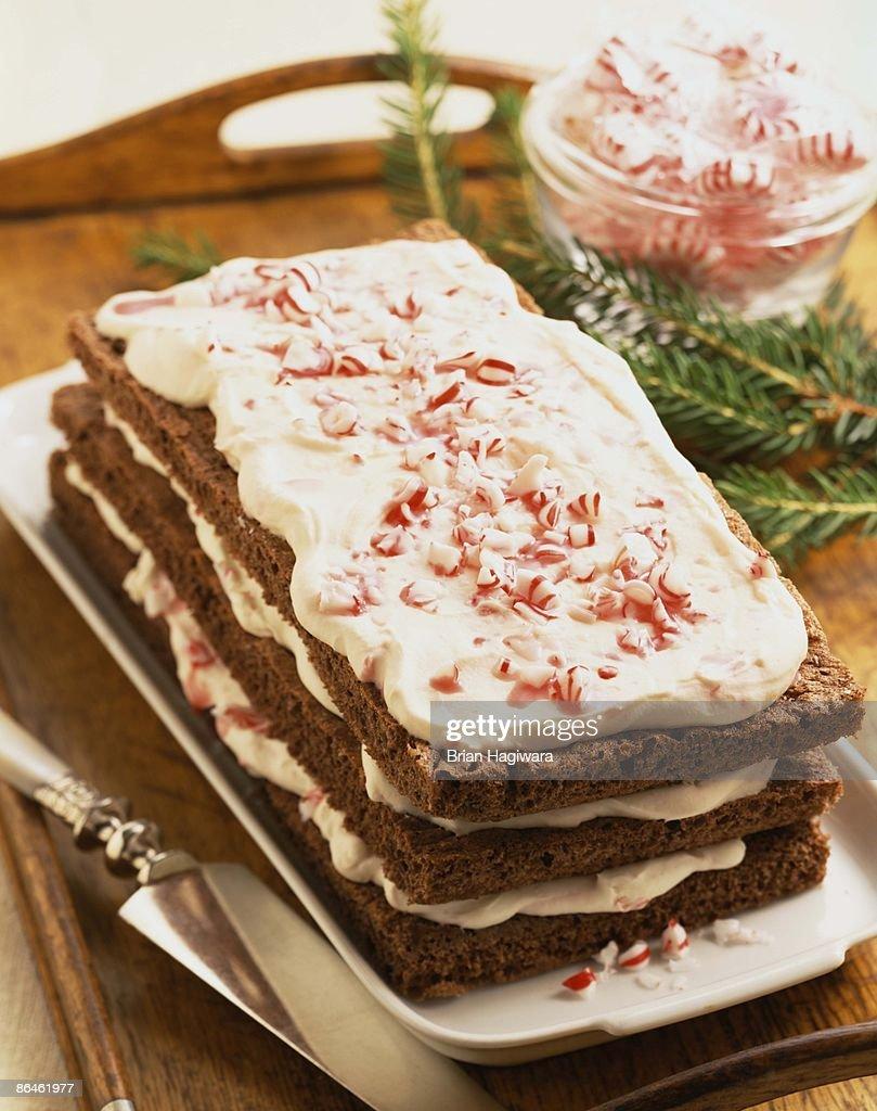 Holiday cake : Stock Photo