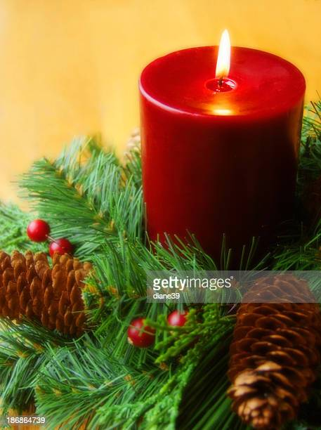 holiday candle ring