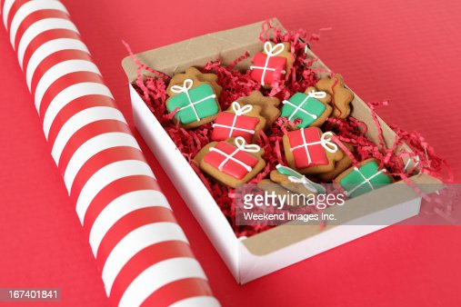 Holiday Cookies : Stockfoto