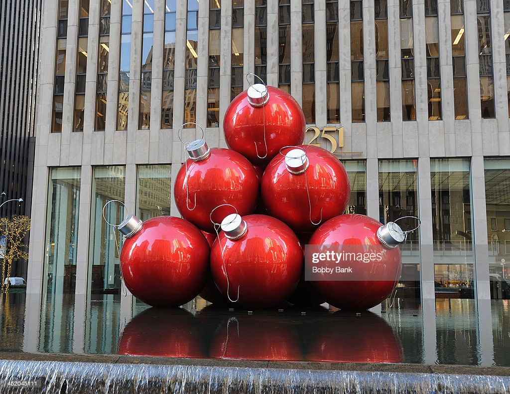 Holiday Decorations in Rockefeller Center on November 25, 2013 in New York City.