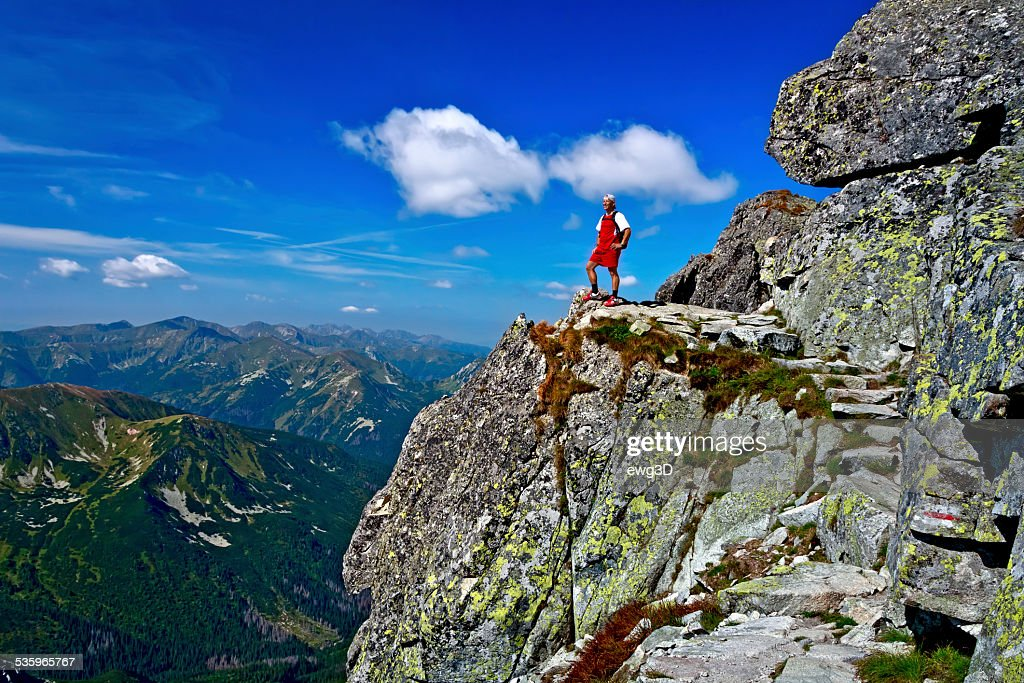 Holiday in the Tatra Mountains : Stock Photo