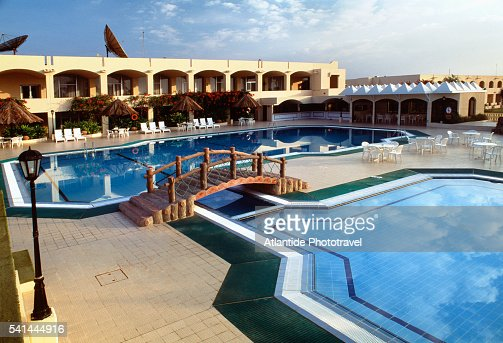 Holiday inn hotel swimming pool salalah oman stock photo getty images Holiday inn hotels with swimming pool