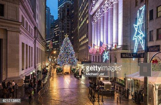 Holiday Lights at NYSE - New York