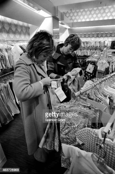 Holiday shoppers Chestnut Hill Mall Newton Massachusetts 1978