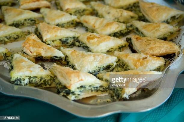 Holiday Spinach Pastry, Greek Spanakopita