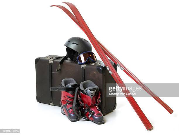 Holiday Suitcase - Skiing