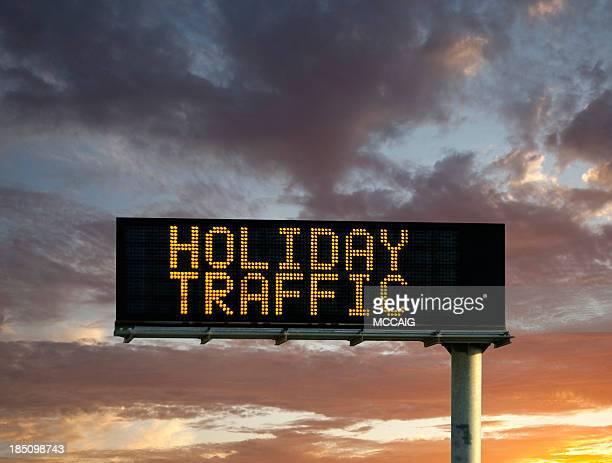 holiday Señal de tráfico