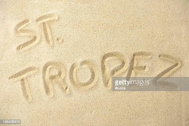 Holidays location sand series: St. Tropez