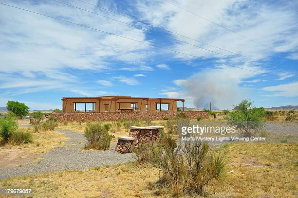 Holland Gage Fire at the Marfa Observatory