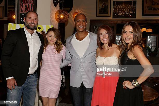 Holland Henderson Chloe Grace Moretz Karim Abay Noelle Nova and Jaclyn Jarrett attend NYLON and Onitsuka Tiger celebrate the annual May Young...