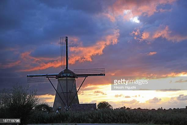 Holland, Kinderdijk