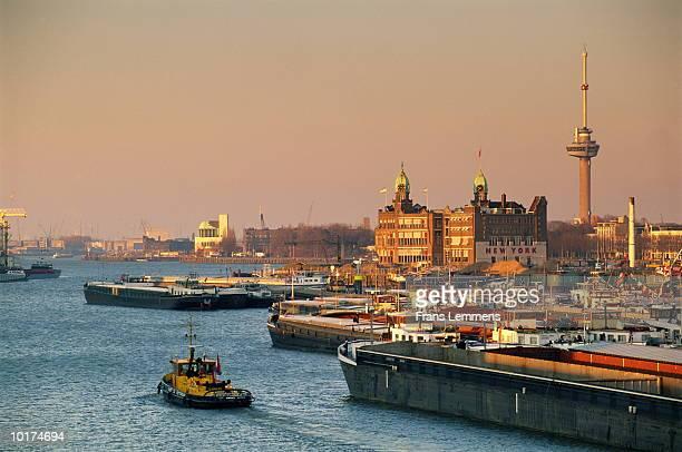 Holland, port of Rotterdam