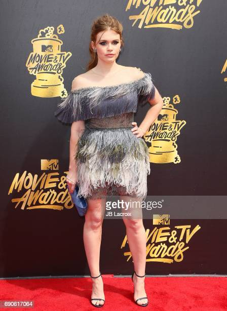 Holland Roden attends the 2017 MTV Movie and TV Awards at The Shrine Auditorium on May 7 2017 in Los Angeles California