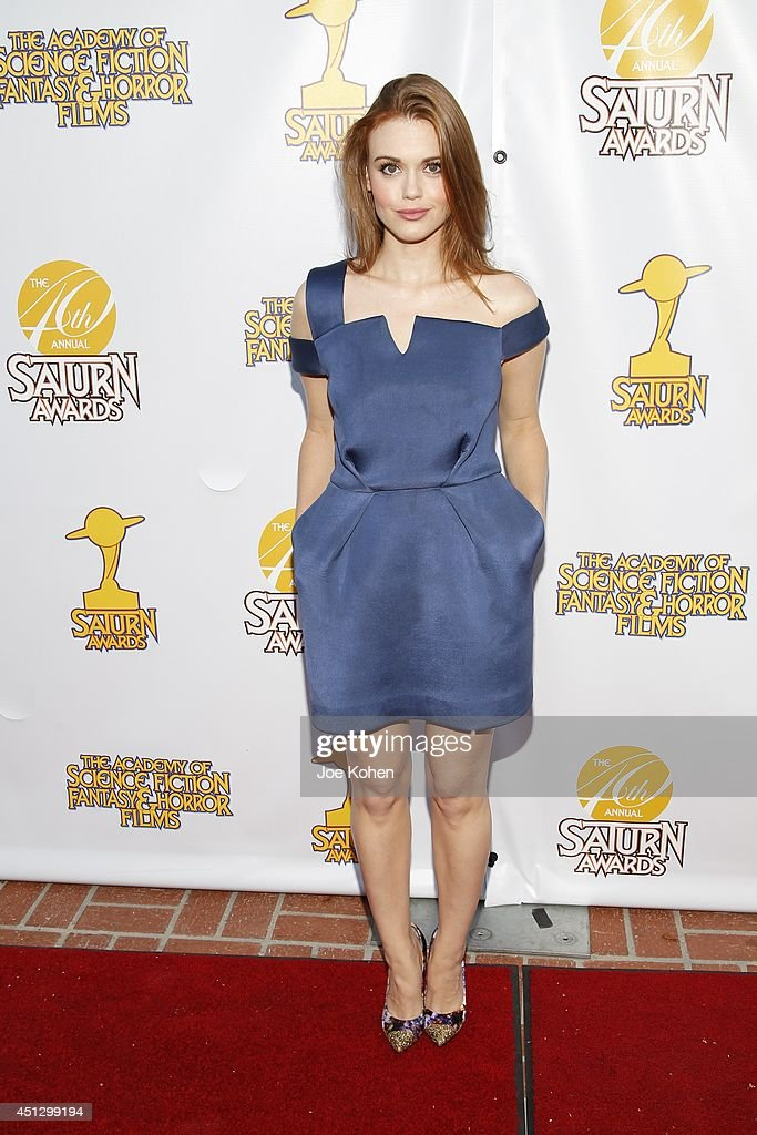 Holland Roden attends the 40th Annual Saturn Awards at The Castaway on June 26, 2014 in Burbank, California.