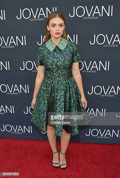 Holland Roden attends the Jovani LA Flagship Opening on May 24 2016 in Beverly Hills California