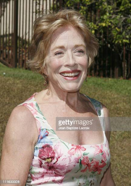 Holland Taylor arrives at the 5th Annual Primetime Emmy Nominees' BAFTA Tea Party at Wattles Mansion on September 15 2007 in Los Angeles California