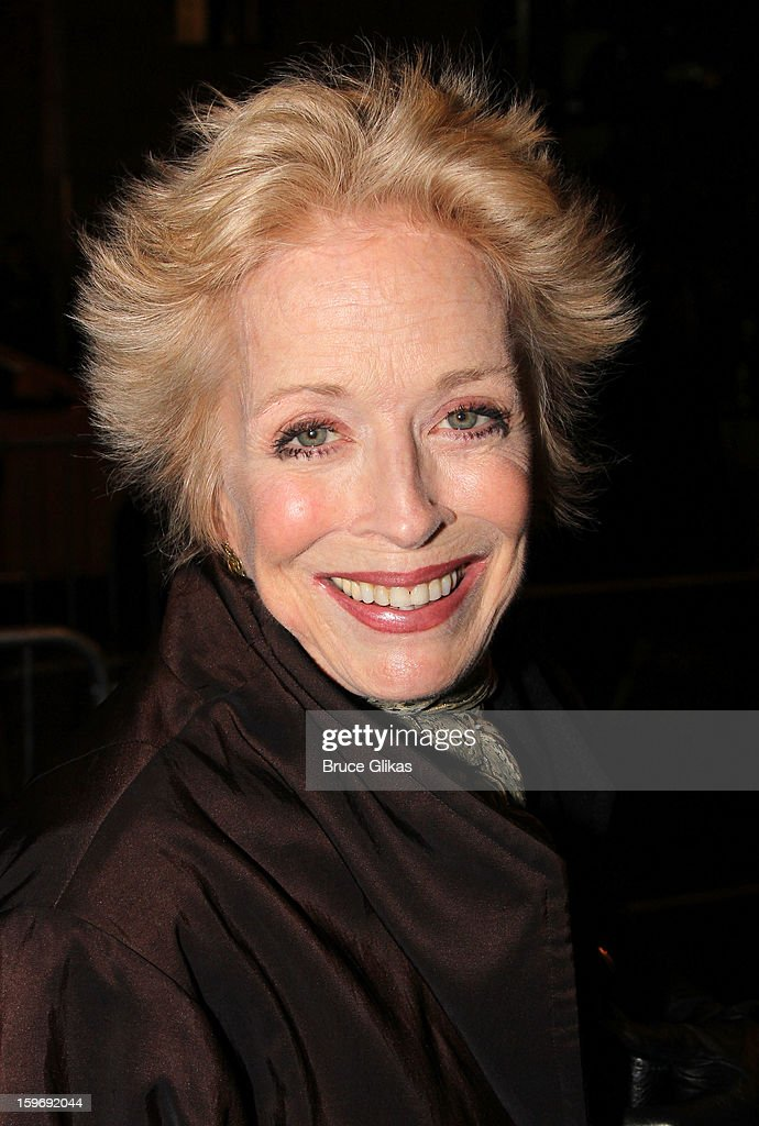 Holland Taylor attends the Broadway opening night of 'Cat On A Hot Tin Roof' at The Richard Rodgers Theatre on January 17, 2013 in New York City.