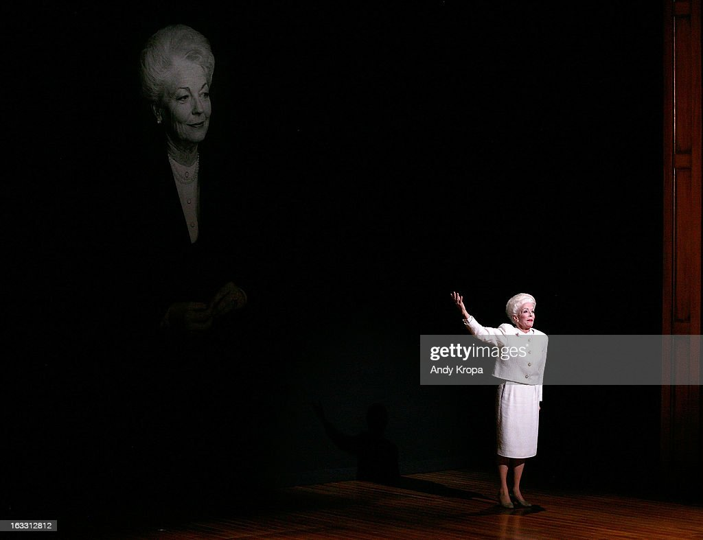 <a gi-track='captionPersonalityLinkClicked' href=/galleries/search?phrase=Holland+Taylor&family=editorial&specificpeople=224773 ng-click='$event.stopPropagation()'>Holland Taylor</a> attends the opening night of 'Ann' at Vivian Beaumont Theatre at Lincoln Center on March 7, 2013 in New York City.